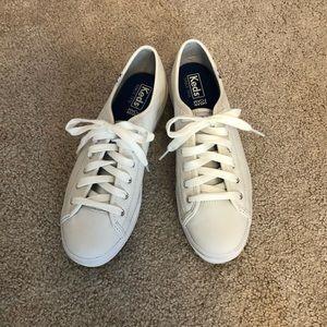 Keds Shoes - Keds Triple Kick White Sneakers
